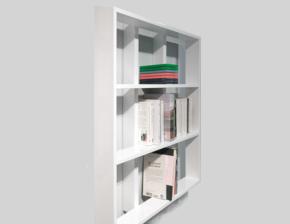 Wall Christmas Book Shelf