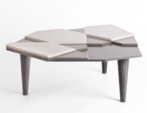 Concrete Coffee Table Fragment