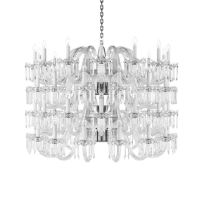 Crown Crystal Chandelier Large