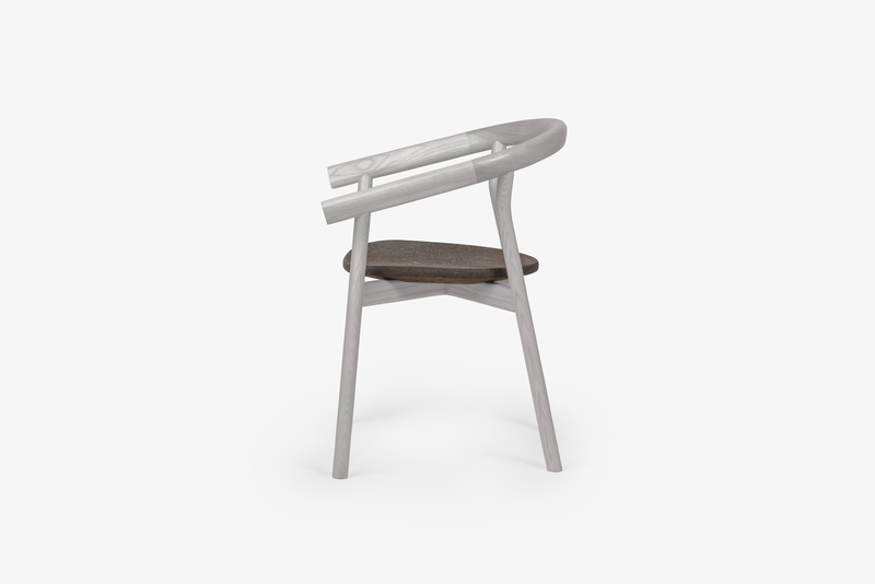 Dora chair   elegant grey dam treniq 1 1518635484881