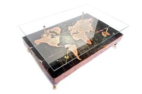 Antique-World-Map-Coffee-Table-With-Glass-Top_Cappa-E-Spada-Bespoke-Furniture-Designs_Treniq_0