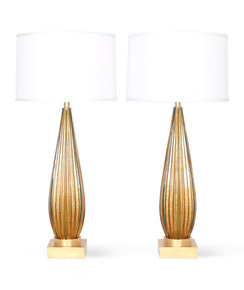 Pair-Of-Mcm-Murano-Glass-Lamps-With-Gold-Flakes_Sergio-Jaeger_Treniq_0