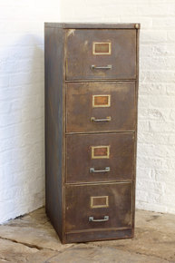 Tannery Reclaimed Vintage Filing Cabinet