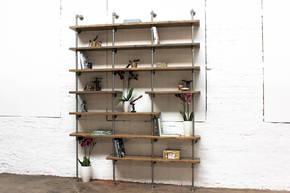 Karen Bespoke Reclaimed Walnut Bookcase