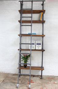 Brooklyn Handmade Reclaimed Wood Bookcase