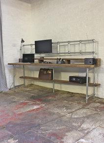 Douglas Reclaimed Scaffolding Desk
