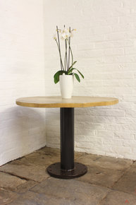 Savary Pedestal Circular Bistro Table