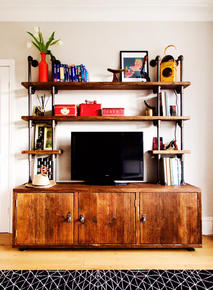 Claudia TV Unit with Cupboards