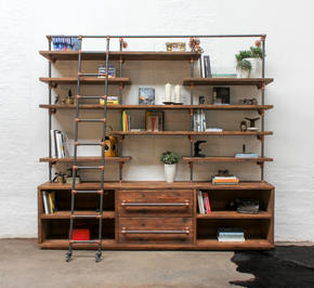 Bos Shelving Unit with Drawers