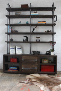 Dan Storage and Shelving Unit with Drawers