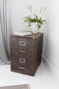 Blake Chic 1960s two drawer Filing Cabinet