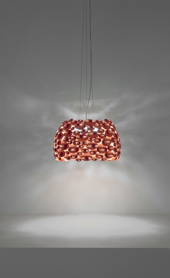 Anish small suspension lamp copper leaf terzani treniq 1 1519210012111