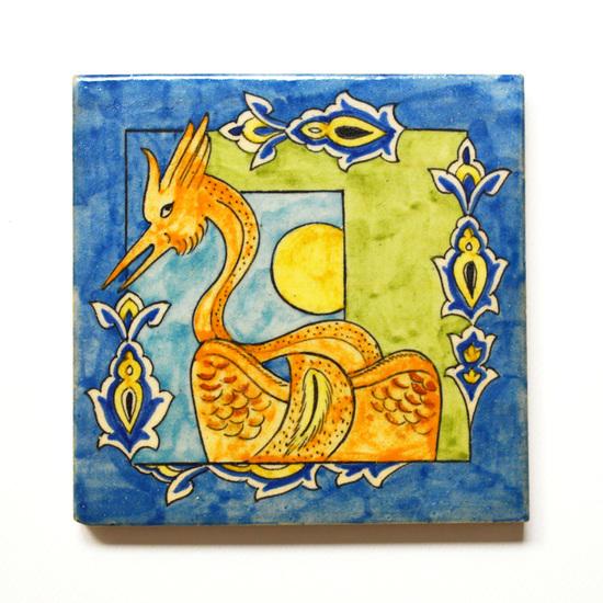 Hand painted tile no.8 wecanart treniq 1 1519759725869
