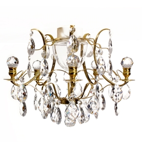 Brass-Bathroom-Chandelier-With-Crystal-Shaped-Almonds-And-Orbs_Gustavian_Treniq_0