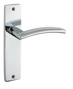 Amalphi Door Handle on Backplate