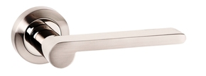 Atlantic Darrio Lever Door Handle on Rose