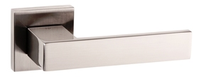 Atlantic Panetti Lever Door Handle on Rose