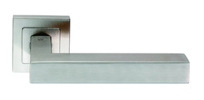 Eurospec Square Mitred Door Handle Satin Stainless Steel
