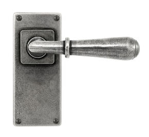 Finesse Fenwick Door Handle on Jesmond Backplate