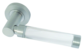 Frelan Milo Glass Handle Polished Chrome