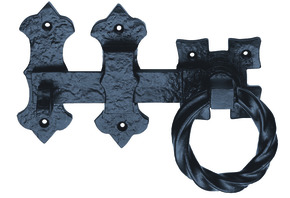 Ludlow Foundries Ring Handle Gate Latch