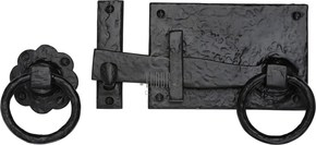 M Marcus Tudor Gate Latch and Ring Handle