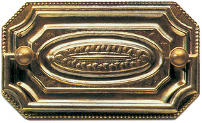 Plate Handle Rectangular