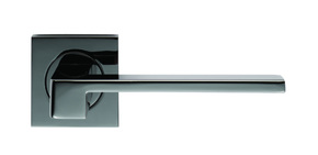 Serozzetta Equi Door Handle Black Nickel