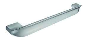 Stainless Steel Effect Curved Bar Handle