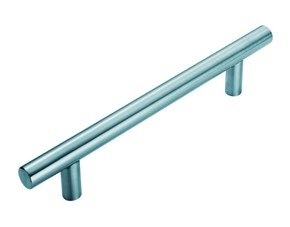 Steelworx T Bar Pull Handle Bright Stainless Steel