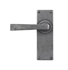 Stonebridge Arundel Door Handle on Backplate