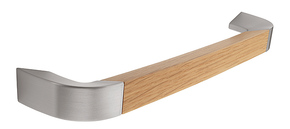Wooden and Stainless Steel D Handle