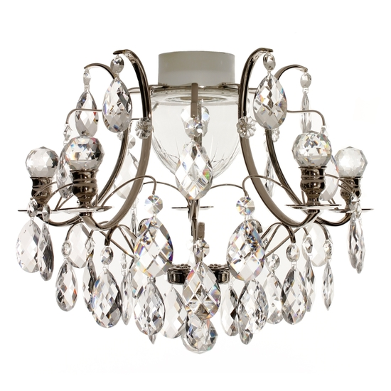 Chrome bathroom chandelier with crystal almonds and orbs gustavian treniq 1 1519740687516