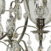 Chrome bathroom chandelier with crystal almonds and spears gustavian treniq 1 1519741469864