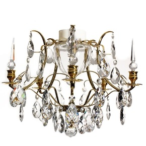 Brass-Bathroom-Chandelier-With-Crystal-Almonds-And-Spears_Gustavian_Treniq_0