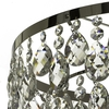 Chrome bathroom chandelier with crystals (low ceilings) gustavian treniq 1 1519746097697