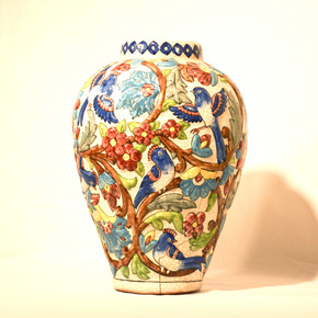 Hand-Painted-Relief-Vase-No.2_We-Can-Art_Treniq_0