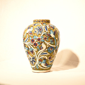 Hand-Painted-Relief-Vase-No.8_We-Can-Art_Treniq_0