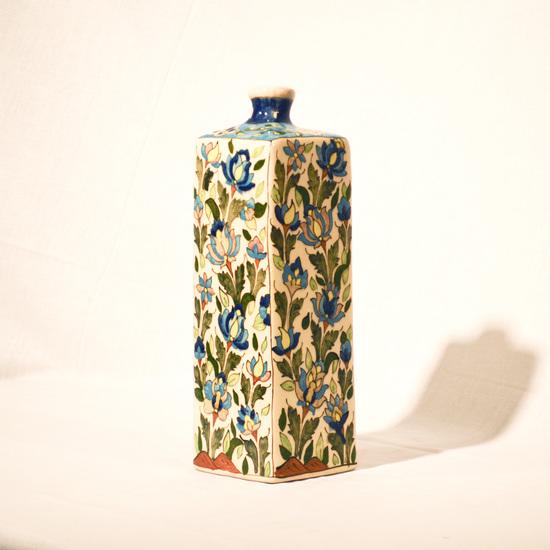 Hand painted cubic vase no.3 wecanart treniq 1 1520194243228