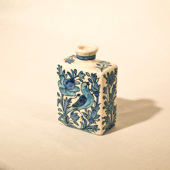 Hand painted cubic vase no.4 wecanart treniq 1 1520194493815