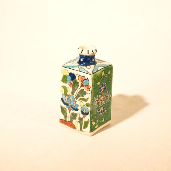 Hand painted cubic vase no.5 wecanart treniq 1 1520194739726