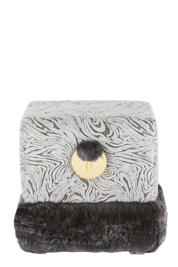 Flox dark grey puff stool green apple home style treniq 1 1520519584369