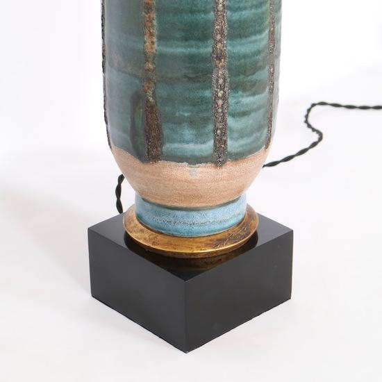 Mid century modern 1950s tall pottery lamp sergio jaeger treniq 1 1520557034686