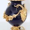 Neoclassical sevres style cobalt blue porcelain lamps gilt bronze accent sergio jaeger treniq 1 1520652622558