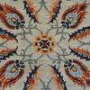 Vibrant silver gray chobi rug talam   khaadi treniq 1 1520760247418