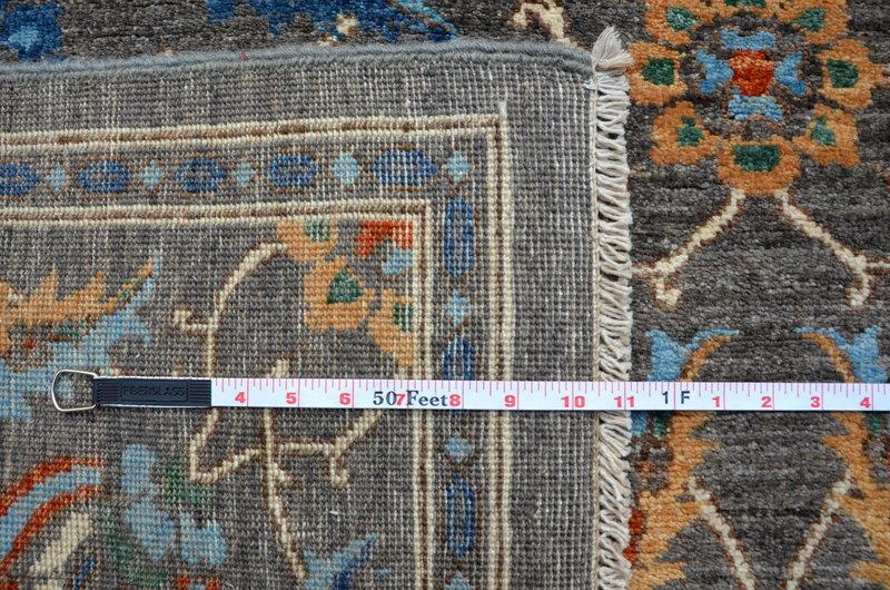 Vibrant gray chobi rug  talam   khaadi treniq 1 1520761363657