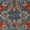 Vibrant gray chobi rug  talam   khaadi treniq 1 1520761353878