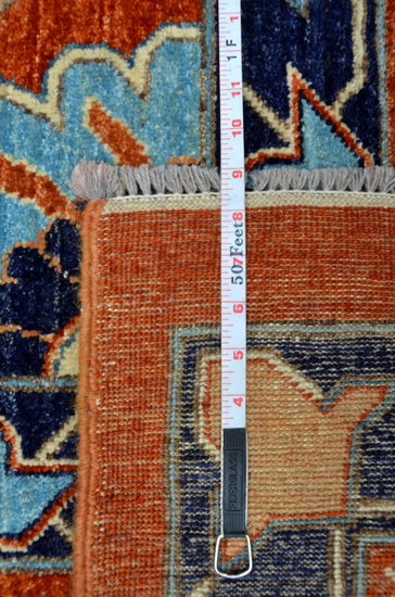 Heriz vibrant rust chobi rug  talam   khaadi treniq 1 1520761755733
