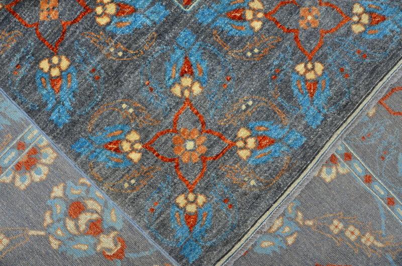 Vibrant gray chobi rug  talam   khaadi treniq 1 1520764718228
