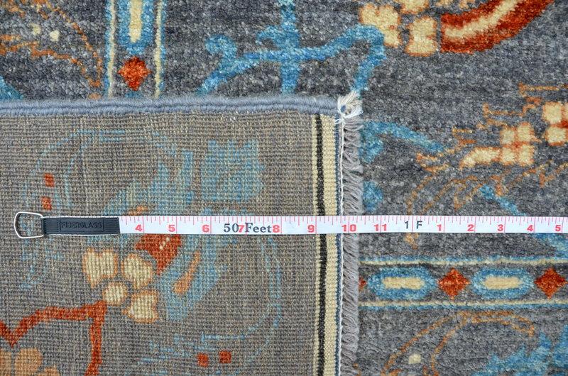 Vibrant gray chobi rug  talam   khaadi treniq 1 1520764723948